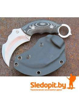 Нож-керамбит Steelclaw CLW05-1 СКОРПИОН лезвие 78мм