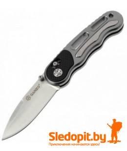 Нож Ganzo G718 Grey лезвие 72мм