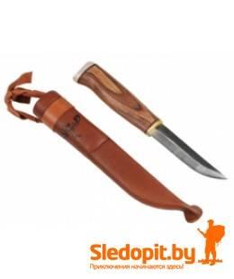 Финский нож JahtiJakt традиционный с рогом ручная работа 90мм