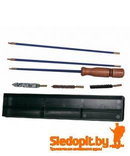 Набор для чистки оружия Nimar калибра 8 мм шомпол металлический в оплетке