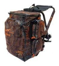 Рюкзак-стул AVI-OUTDOOR Hagle Hard Camo с встроенным стулом 45л