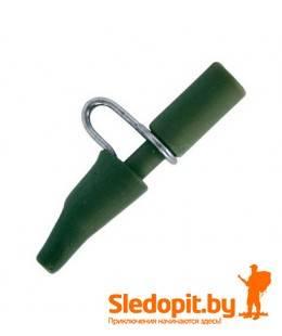 Безопасная клипса Quantum Metal Safety Clip зеленая матовая