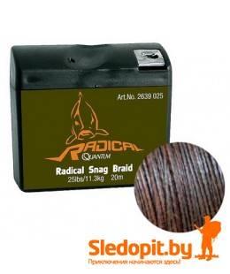 Поводочный материал Quantum Radical Snag Braid 20m 20.4kg