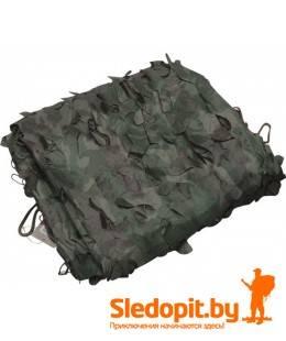 Легкий тент продуваемый для защиты от солнца, для палаток, навесов, беседок 3х1.5м лес