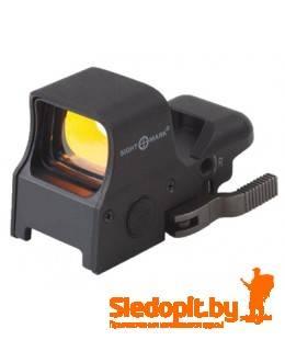 Коллиматор Sightmark Ultra Shot Sight QD Digital Switch на Weaver