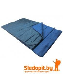 Прокат двухместного спального мешка Зубрава МС200ДХ с подголовником
