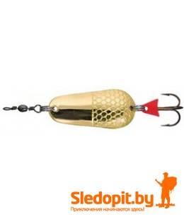 Колеблющаяся блесна Zebco Classic Spoon золото 22г