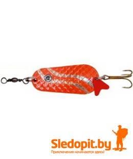 Колеблющаяся блесна Zebco Classic Spoon красно-серебрянная 22г