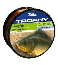 Леска для карповой ловли Zebco Trophy Carp 245м 0.40мм-12.7кг